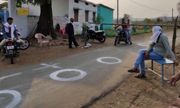 बाहर के लोगों को गांव में घुसने नहीं दिया, कोरोना संक्रमण से पूरा गांव रहा सुरक्षित