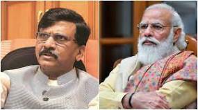 शिवसेना ने बदला राग : राऊत बोले - प्रधानमंत्री मोदी बीजेपी ही नहीं देश के भी शीर्ष नेता