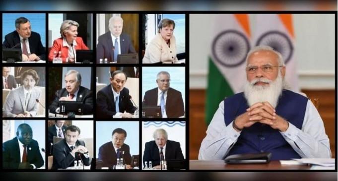 जी-7 में पीएम मोदी ने कोरोना वैक्सीन को पेटेंट फ्री करने की वकालत की, इसे पहुंचाने के लिए सभी देशों से सहयोग मांगा - bhaskarhindi.com
