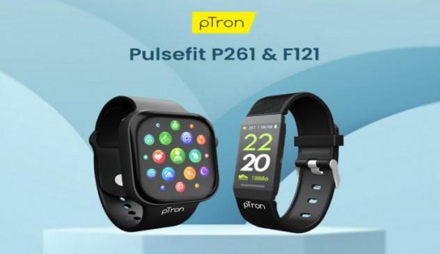 pTron Pulsefit स्मार्टवॉच और Pulsefit फिटनेस बैंड भारत में लॉन्च, जानें कीमत और फीचर्स