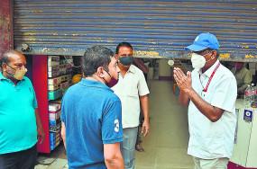 नागपुर के बाजारों में लौटी रौनक, दोपहर बाद गिरे दुकानों को शटर