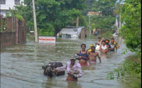 बिहार में बढ़ा बाढ़ का खतरा, खतरे के निशाने से ऊपर बह रही हैं गंगा समेत कई नदियां