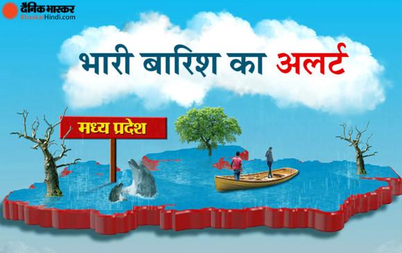 Weather report: मध्य प्रदेश में होगी भारी बारिश, मौसम विभाग ने जारी किया येलो अलर्ट
