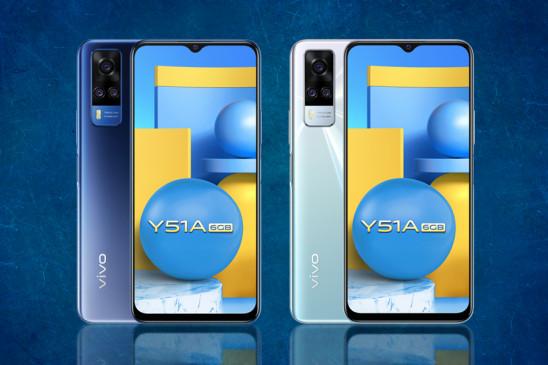 Vivo Y51A का 6GB वेरिएंट भारत में हुआ लॉन्च, इसमें है 5000 mAh बैटरी और 48 MP कैमरा