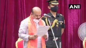 बसवराज बोम्मई बने कर्नाटक के नए मुख्यमंत्री, राजभवन में ली CM पद की शपथ