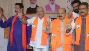 कर्नाटक: बसवराज बोम्मई होंगे कर्नाटक के नए CM, राज्यपाल से की मुलाकात, सुबह 11 बजे लेंगे शपथ