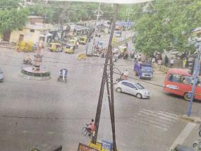 दस साल बाद भी अपने रूप में नहीं आ सकी दमोहनाका-चुंगीनाका रोड