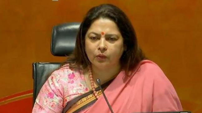 मीनाक्षी लेखी ने किसानों को बताया मवाली, राकेश टिकैट बोले- पहली बार सरकार ने माना बॉर्डर पर बैठे लोग किसान हैं - bhaskarhindi.com