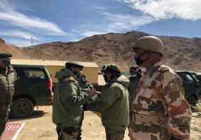 भारत और चीन के बीच आज सुबह 10.30 बजे कोर कमांडर लेवल की 12वीं मीटिंग, हॉट स्प्रिंग्स और गोगरा हाइट्स से डिसएंगेजमेंट पर चर्चा की उम्मीद