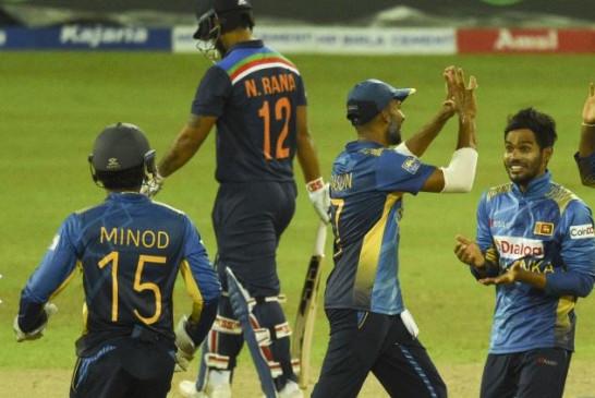 Ind vs SL 3rd ODI: टीम इंडिया 43.1 ओवर में ऑलआउट हुई, श्रीलंका को 226 रन का टारगेट