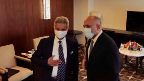 अफगानिस्तान के क्षेत्रों पर तालिबान के तेजी से नियंत्रण के बीच दुशान्बे पहुंचे जयशंकर, SCO मीट से पहले अफगान समकक्ष से मुलाकात की