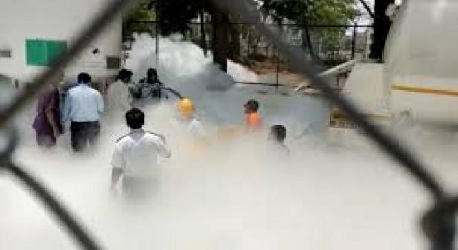 केंद्र के बाद अब महाराष्ट्र सरकार का दावा - ईश्वर की कृपा से ऑक्सीजन की कमी से एक भी मौत नहीं