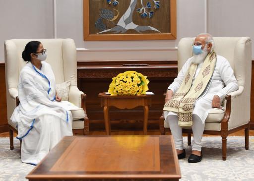 प्रधानमंत्री नरेंद्र मोदी से मिली ममता बनर्जी, कहा- हमें जनसंख्या के हिसाब से वैक्सीन चाहिए
