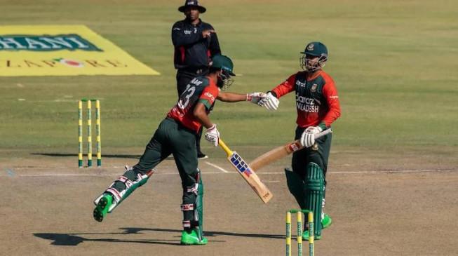 Ban Vs Zim 1st T20I: पहले टी-20 मुकाबले में बांग्लादेश ने जिम्बाब्वे को 8 विकेट से हराया, नईम और सौम्य सरकार के अर्धशतक