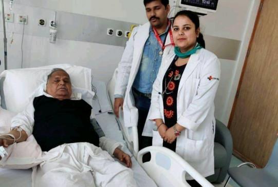 पेट दर्द के चलते फिर बिगड़ी मुलायम सिंह की तबीयत, अस्पताल में हुए भर्ती, 23 दिन पहले ही लगवाई थी वैक्सीन