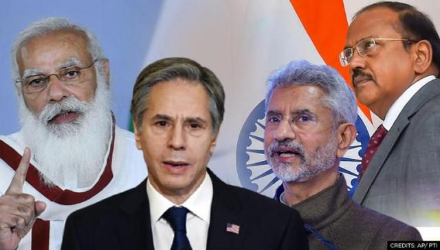 NSA डोभाल की अमेरिकी विदेश मंत्री ब्लिंकन से मुलाकात, अफगानिस्तान के बिगड़ते हालातों पर चर्चा