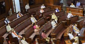 Monsoon Session: पेगासस जासूसी मामले पर विपक्ष का हंगामा, राज्यसभा की कार्यवाही गुरुवार सुबह 11 बजे तक स्थगित
