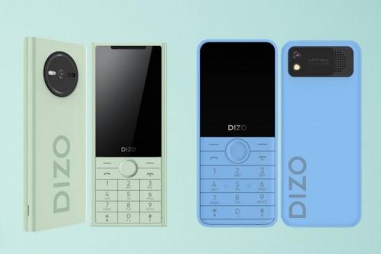 Realme Dizo ने लॉन्च किए दो फीचर फोन Star 500 और Star 300 , जानें कीमत और फीचर्स