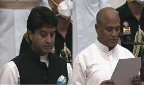 मोदी ने निभाया वादा: सिंधिया ने ली कैबिनेट मंत्री की शपथ, कांग्रेस ने कसा तंज