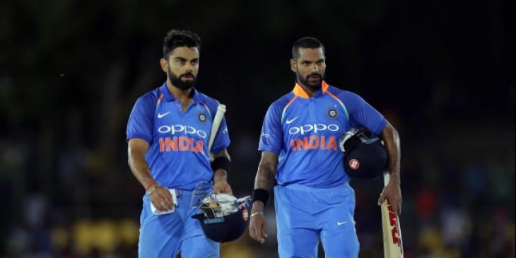 ICC ODI Rankings: शिखर धवन दो पायदानों की छलांग के साथ 16वें स्थान पर पहुंचे, कोहली दूसरे स्थान पर बरकरार