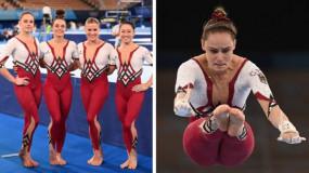 ओलंपिक में जिमनास्टिक खिलाड़ियों ने पहली बार पहने ऐसे कपड़े, जिसने देखा रह गए हैरान