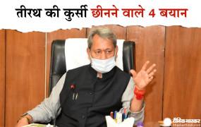 CM बनते ही तीरथ ने दिए थे कुछ ऐसे बयान, जिन पर हुआ विवाद