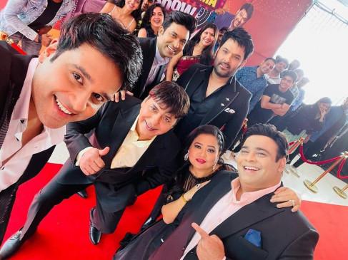 """""""The Kapil Sharma Show"""" की धमाकेदार वापसी, प्रोमो में साथ नजर आए भारती और कृष्णा"""