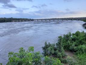 कैचमेंट एरिया में बारिश की रफ्तार कम, 416.20 मीटर पहुँचा जल स्तर
