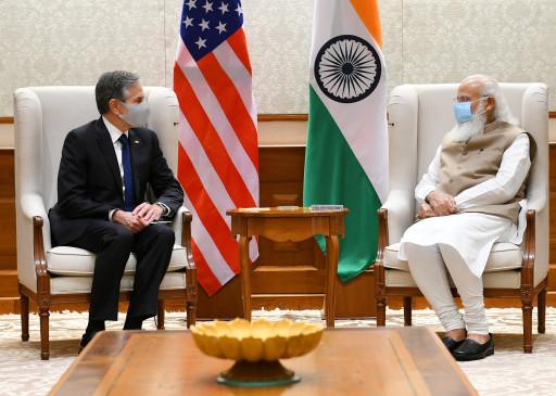 पीएम मोदी की अमेरिकी विदेश मंत्री के साथ बैठक, दोनों नेताओं ने अफगानिस्तान, कोविड-19 समेत अन्य मुद्दों पर चर्चा की