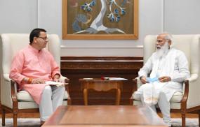 उत्तराखंड सीएम धामी ने प्रधानमंत्री मोदी से की मुलाकात, अन्य मंत्रियों से भी करेंगे भेंट