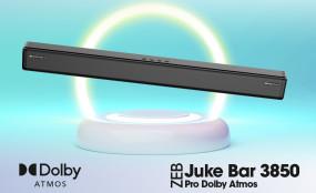 Zebronics का Juke Bar 3850 Pro Dolby Atmos साउंड बार हुआ लॉन्च, जानें कीमत