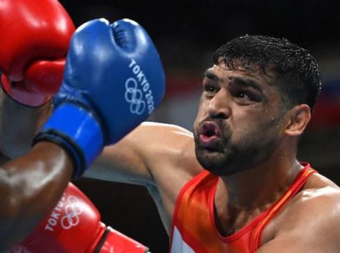 Tokyo Olympics: मेन्स बॉक्सिंग में भारतीय चुनौती खत्म, सतीश कुमार को क्वार्टर फाइनल मुकाबले में उजबेकिस्तान के बखोदिर जालोलोव ने हराया