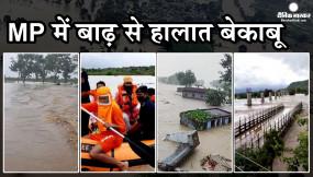 MP में बाढ़ से हालात बेकाबू: शिवपुरी, श्योपुर, ग्वालियर और दतिया में 2 हजार से ज्यादा लोग फंसे, CM शिवराज ने मांगी सेना से मदद