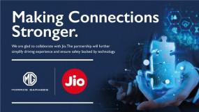 MG Motor ने अपकमिंग SUV में कनेक्टेड फीचर्स के लिए Jio के साथ करार किया