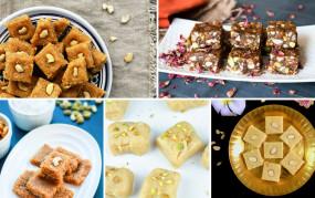 """Raksha Bandhan Recipe: घर पर बनाएं 4 तरीके की """"बर्फी"""", यहां देखिए सबसे आसान तरीका"""