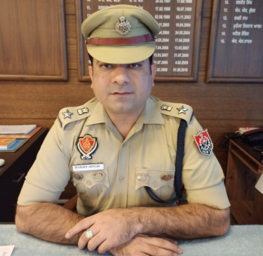 पंजाब पुलिस ने खूंखार गैंगस्टर को पकड़ा, हथियार जब्त