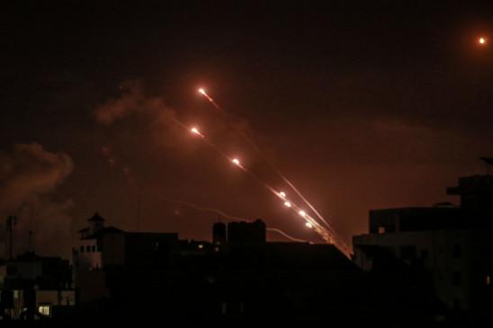 गाजा के आतंकवादियों ने इस्राइल पर रॉकेट दागे - सेना