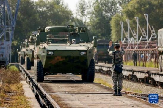 एससीओ सैन्य अभ्यास में भाग लेने पहुंची 8 देशों की सेनाएं - bhaskarhindi.com