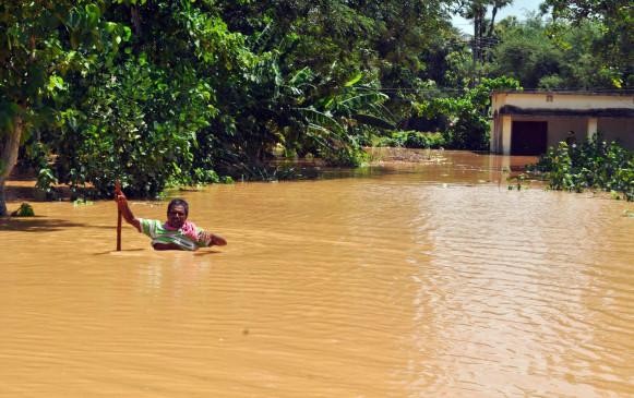 ओडिशा में बारिश का कहर,  4 की मौत और 1 लापता