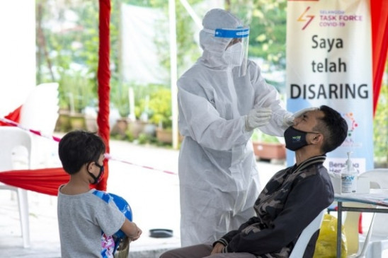 मलेशिया में कोविड के 15 हजार 669 नए मामले दर्ज, कुल संक्रमितों की संख्या बढ़कर 20 लाख के पार