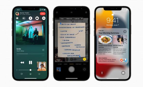 आईफोन यूजर्स को 20 सितंबर को मिलेगा आईओएस 15 अपडेट