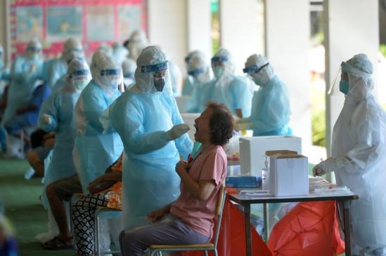थाईलैंड में कोविड-19 के 13 हजार 798 नए मामले दर्ज, 144 लोगों ने गवाई जान - bhaskarhindi.com
