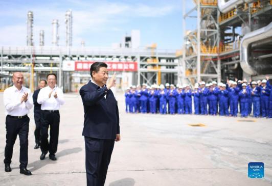चीनी राष्ट्रपति शी चिनफिंग ने हरित विकास की रणनीति को अभूतपूर्व ऊंचाई पर रखा है - bhaskarhindi.com