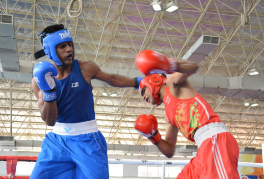Sanjeet, Shiva and Husamuddin enter finals of Men's National Boxing Championship