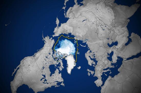 2021 आर्कटिक महासागर से बर्फ का रिकॉर्ड सबसे नीचे पहुंचा - bhaskarhindi.com
