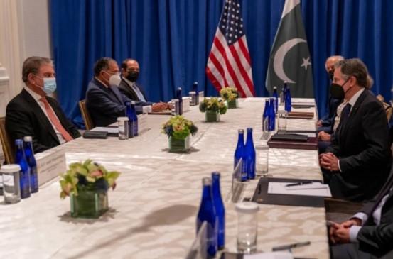 पाक विदेश मंत्री के साथ बातचीत के दौरान अफगान सरकार के गठन पर अमेरिका ने जताया रोष