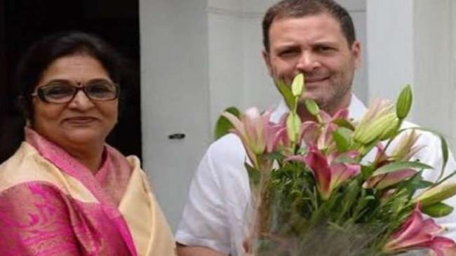 Congress nominates former Maharashtra MP Rajni Patil for Rajya Sabha by-election