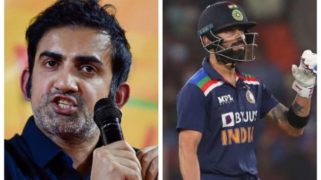कोहली के आईपीएल में कप्तानी छोड़ने पर गौतम गंभीर ने दी तीखी प्रतिक्रिया