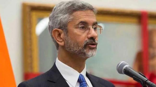 विदेश मंत्री जयशंकर ने संयुक्त राष्ट्र की बैठक में नियमित उड़ानें फिर से शुरू करने पर जोर दिया
