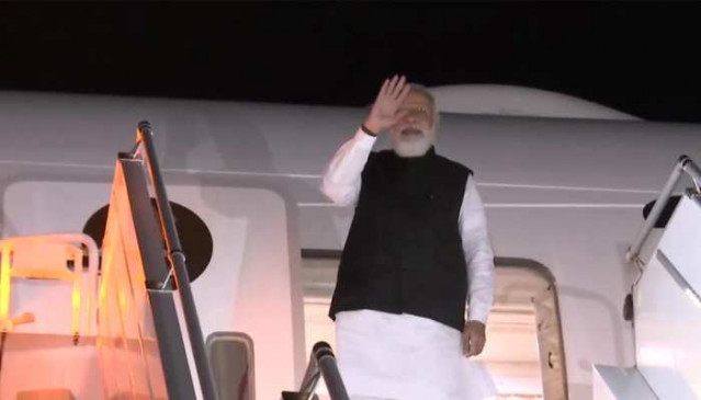 PM Modi leaves for India after three-day visit